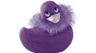 Grand canard paris violet