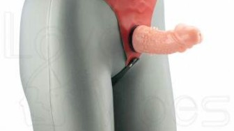 Test : Gode Ceinture à Picots O-Ring